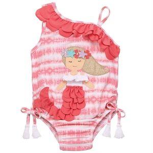 NWT Mud Pie Tie-Dye Mermaid Swimsuit
